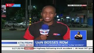 Drama at the University of Nairobi as CS Amina clashes with the council