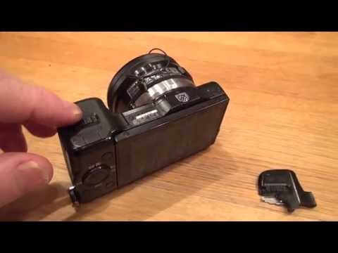 Sony NEX 5R Replace Battery Lid