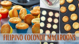 How To Make Filipino Coconut Macaroons