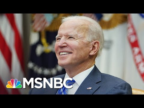 Did Biden Sweat Senate's Covid Aid Fight After Years As A Senator? | The 11th Hour | MSNBC