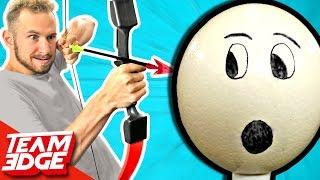 OSTRICH EGG Humpty Dumpty Challenge!!