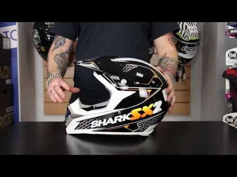 Shark SX2 Kamaboko мотошлем