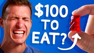 We Offered $100 to Eat this Gummy Bear (most wouldn't!)