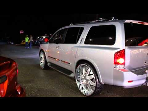 """Nissan Armada On 30"""" Forgiato Wheels"""
