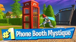 Use a Phone Booth as Mystique Location - Fortnite (Awakening Challenge)