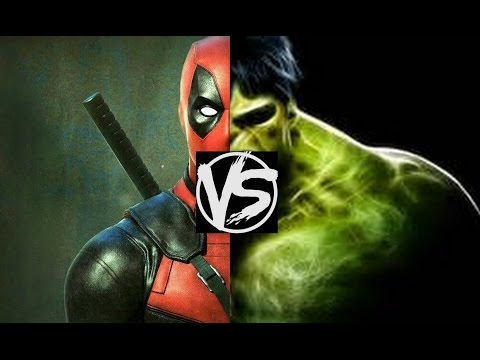 Deadpool VS The Incredible Hulk...Who'd Win The Death Battle? A Deadpool VS Hulk Death Battle Fight!