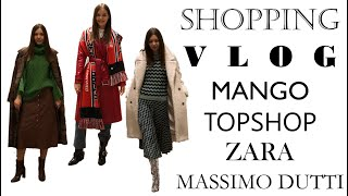 Шоппинг влог: Mango, Topshop, ,Massimo Dutti, Zara // Тренды осени 2018