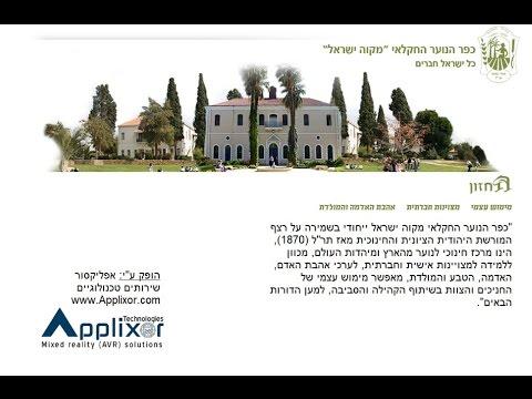 צילום 360 וסיור וירטואלי במקווה ישראל