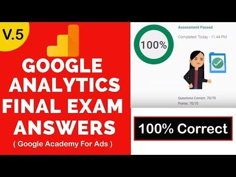 Google Analytics Exam Answers 2019 - 100% Correct | Google ...