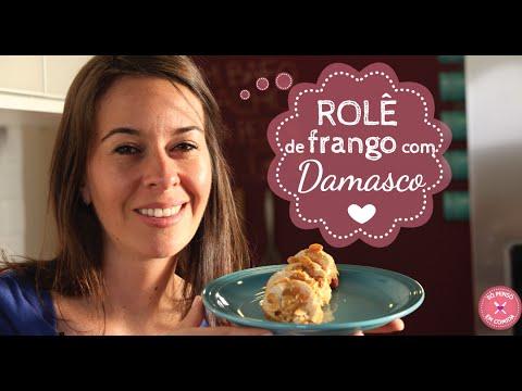 Rolê de Frango com Damasco e Champanhe