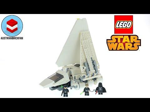 Vidéo LEGO Star Wars 75302 : La Navette impériale