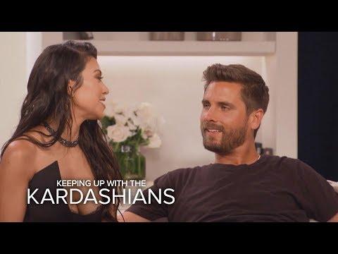 KUWTK   Kourtney Kardashian and Scott Disick Address Their Split   E!
