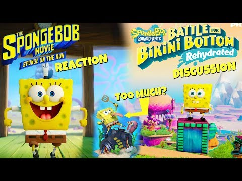 SpongeBob Movie Trailer Reaction & BFBBR Discussion! - ZakPak