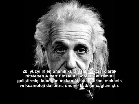 Albert Einstein Kimdir ve Hakkındaki İlginç Bilgiler