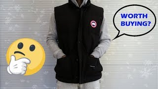 Canada Goose Freestyle Vest Fit Review