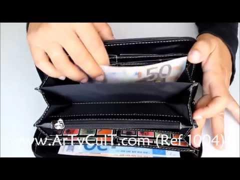 Carteras de piel para mujeres *** www.ArTyCult.com (Ref 1004)