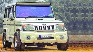 Mahindra bolero modified 2019 ( bolero modified big wheels ) || CAR CARE TIPS ||
