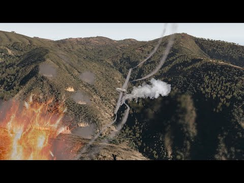 Fighting Wildfires With Planes - X-Plane 11