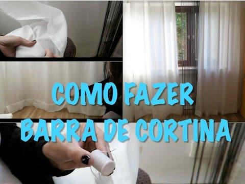 Como fazer barra de cortina instalada - PASSO A PASSO