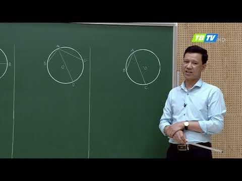 MÔN TOÁN LỚP 9- GÓC NỘI TIẾP - 8H NGÀY 23/3/2020 (Thái Bình)