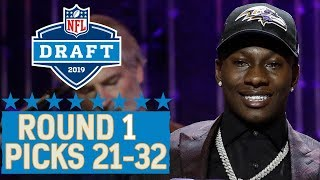 Picks 21-32: Star WRs Cousin, Team Trades Back into 1st Round & More | 2019 NFL Draft
