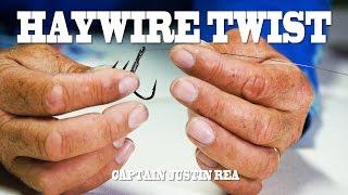 How to tie steel leaders via the Haywire Twist