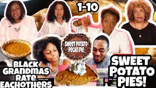 Black Grandmas Try Other Black Grandmas' Sweet Potato Pie! Reaction