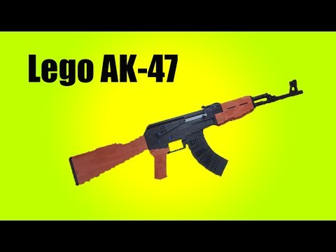 Working Lego Ak 47 V2