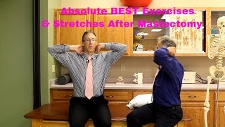 Breast Cancer- BEST Exercises to Perform After Mastectomy-Stretches