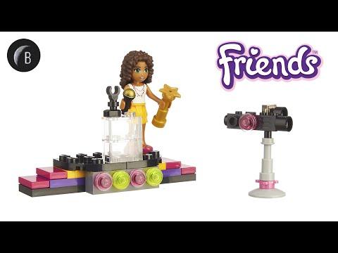 Vidéo LEGO Friends 30205 : Le tapis rouge de la Pop Star (Polybag)
