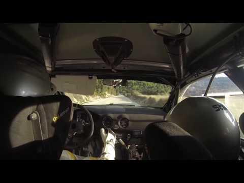 Vallin-Odriozola, Rally La Nucía 2016, Tc6 Benilloba Relleu 1. Opel Adam R2