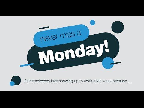 Never Miss a Monday!