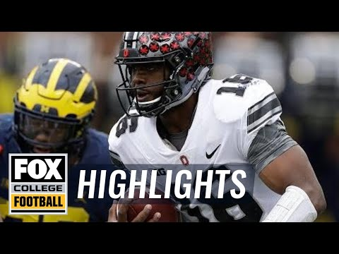 J.T. Barrett cuts through the Wolverines' defense, Michigan leads to 14-7 | FOX COLLEGE FOOTBALL