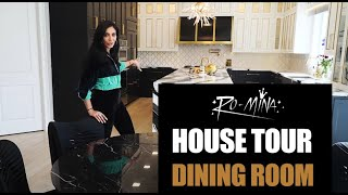 RO-MiNA - House Tour - Dining Room & Wine Bar