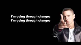 Going Through Changes - Eminem // Lyrics On Screen [HD]