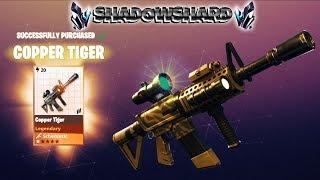 FORTNITE PvE : TIGER ~ SHADOWSHARD & MY PERKS