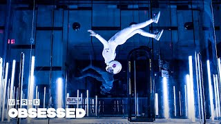 How This Girl Takes Indoor Skydiving to the Next Level | Obsessed | WIRED
