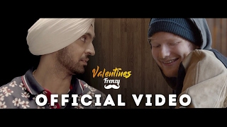 VALENTINES FRENZY (feat. Diljit Dosanjh & Ed Sheeran)  |  DJ FRENZY  |  SHAPE OF YOU BHANGRA MIX