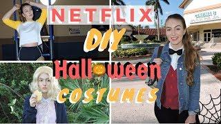 10 NETFLIX DIY HALLOWEEN COSTUMES 2017 | Miranda Grace Massey