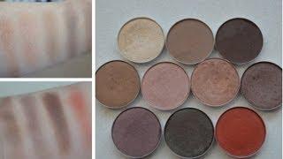 Top Ten MAC Eyeshadows