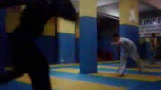 capoeirakayseri spor  salonu gösterisi