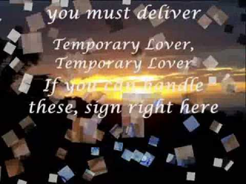 Temporary Lover