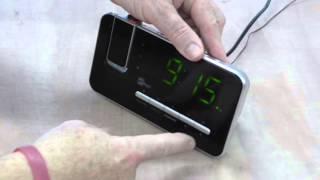 Das Einstellen von Datum, Zeit und Alarm des CL-1492MT