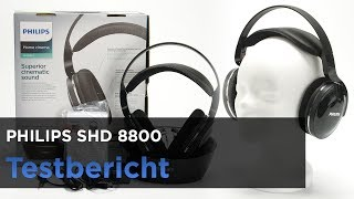 Philips SHD 8800 im Test - Digitaler Funkkopfhörer mit optionalem Kabel.