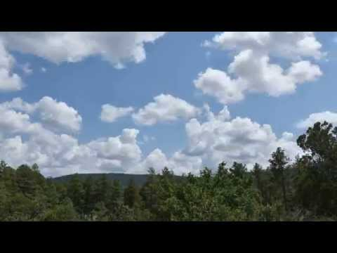 Time Lapse Photography - Cloud Formations in Strawberry, Arizona