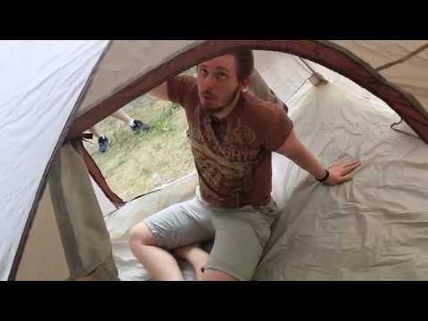 Кемпинговая палатка с автоматическим каркасом Greenell «Дерри 3». Видеообзор.
