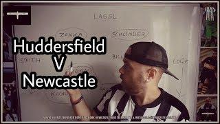 Whiteboard tactics | Huddersfield Town v Newcastle United