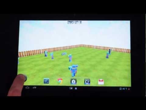 Video of Cop vs Zombies Live Wallpaper