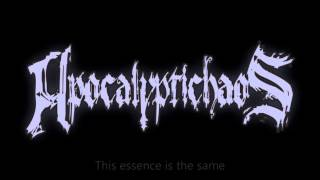 Apocalyptichaos - Cry in The Dark with lyrics