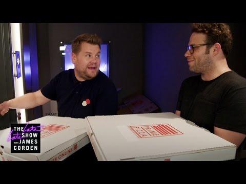 Mystery Pizza Box w/ Seth Rogen & Dominic Cooper